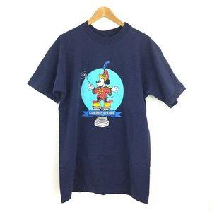Vtg Y2K Disney Mickey Magic Music Days Tee Shirt